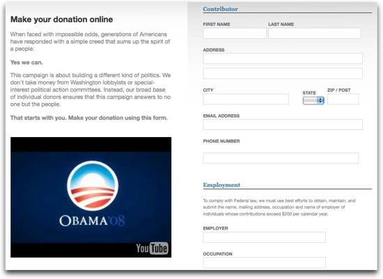 BarackObama.com Contributor page