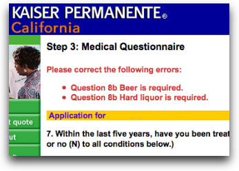 Applying for Medical Insurance? Beer is Required