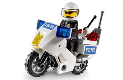 Lego Police Motorcycle Kit